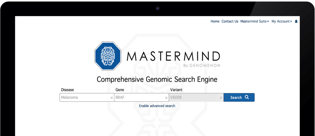 Mastermind Genomic Search Engine
