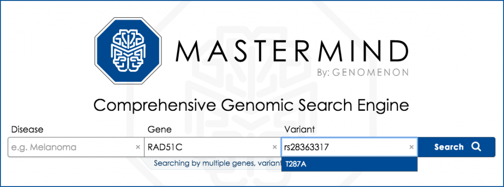 Mastermind PMID search