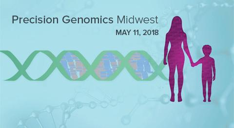 Precision Genomics Midwest logo