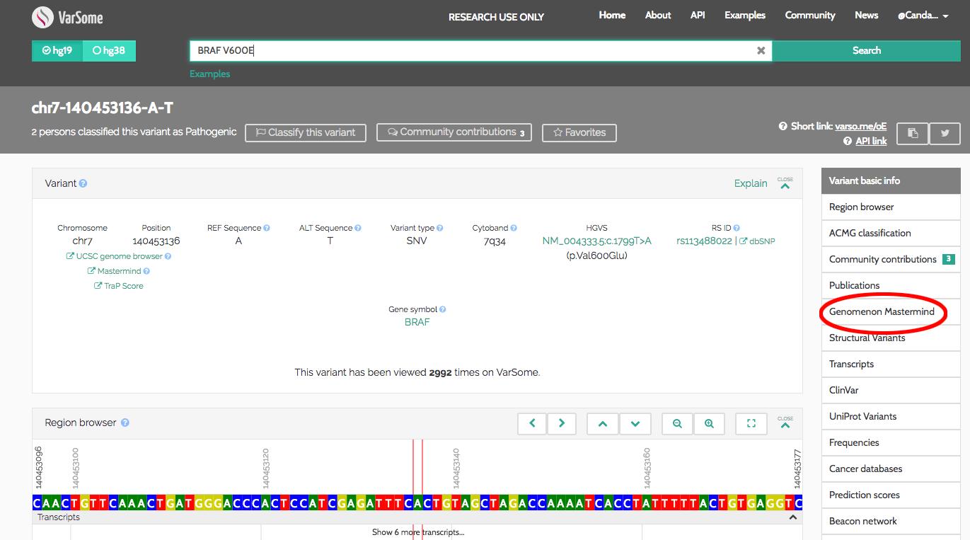 FAQ - Database of Genomic Variants | Genomenon