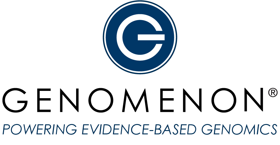 Genomenon logo - Powering Evidence-Based Genomics