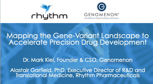 <h2><b>Featured Webinar:</h2> </b><Br> <h4><i>Mapping the Genomic Landscape to Accelerate Precision Drug Development </h4></i><br>