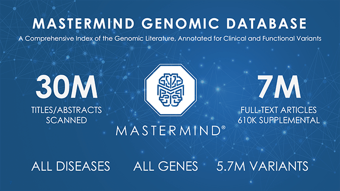 Mastermind Genomic Database
