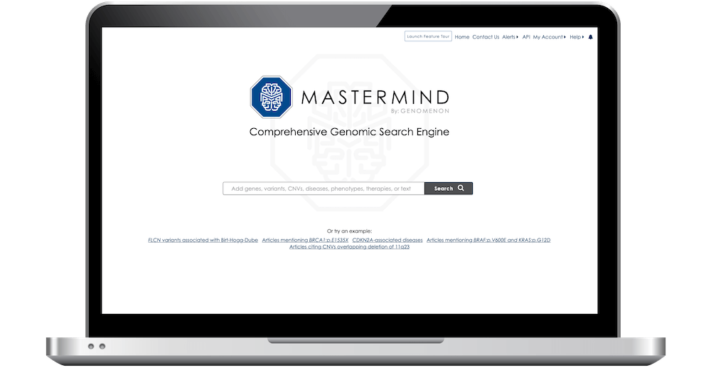 CONTACT US FOR A DEMO<br><h5><b>Search the world's most comprehensive source of genomic evidence.</h5></b>